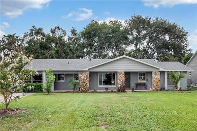 Minneola Single Family Home For Sale: 11417 Lake Minneola Shores