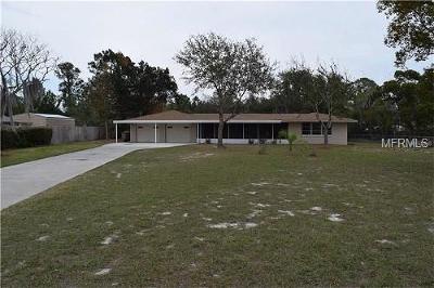 Leesburg Single Family Home For Sale: 11811 Huggins Street