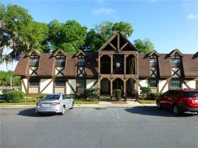Lake County, Marion County, Sumter County, Orange County, Seminole County Condo For Sale: 500 Newell Hill Road #102A