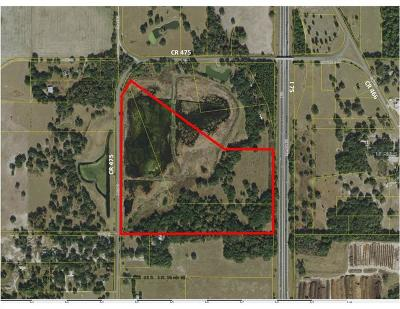 Oxford FL Residential Lots & Land For Sale: $750,000