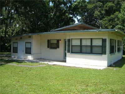 Lake County, Sumter County Single Family Home For Sale: 2822 Cr 426a