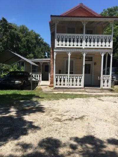 Lake County, Sumter County Multi Family Home For Sale: 8 Dewitt Court
