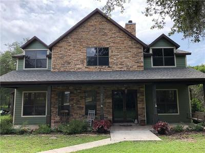 Groveland Single Family Home For Sale: 9611 Doctor Baker Road