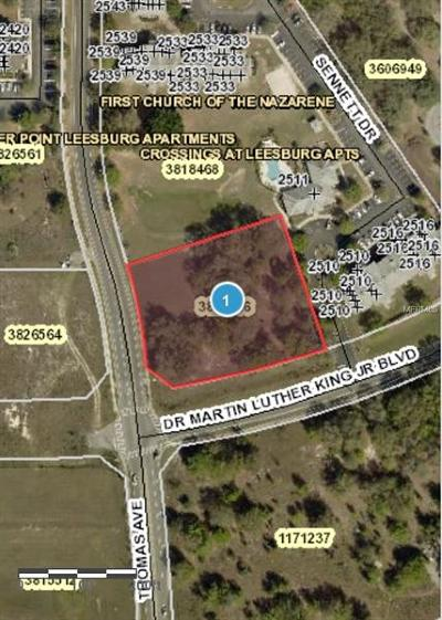 Leesburg Residential Lots & Land For Sale: Thomas Avenue