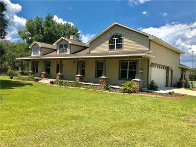 Leesburg Single Family Home For Sale: 40347 County Road 452