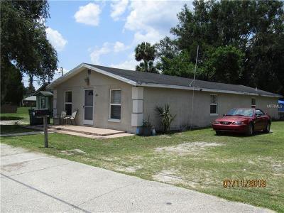 Eustis Single Family Home For Sale: 1601 Bates Avenue