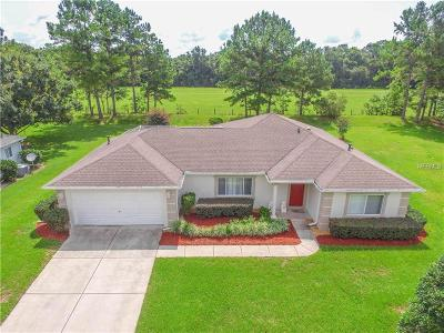 Lake County, Marion County Single Family Home For Sale
