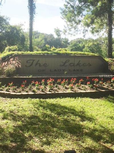 Lady Lake Residential Lots & Land For Sale: 588 Dowling Circle