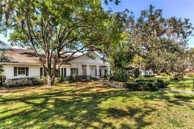 Eustis Single Family Home For Sale: 1700 Country Club Road