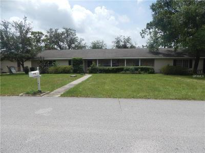 Eustis Single Family Home For Sale: 628 W Seminole Avenue