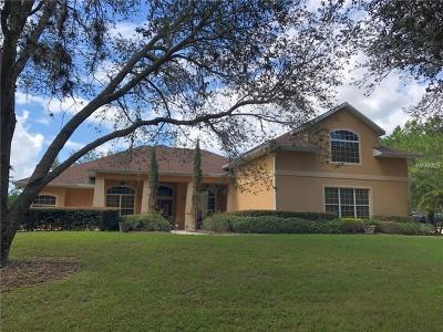 Eustis Single Family Home For Sale: 35709 Thrill Hill Road
