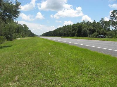 Levy County Residential Lots & Land For Sale: Hwy 19/98