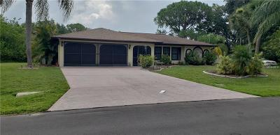 Port Charlotte Single Family Home For Sale: 206 McDill Drive