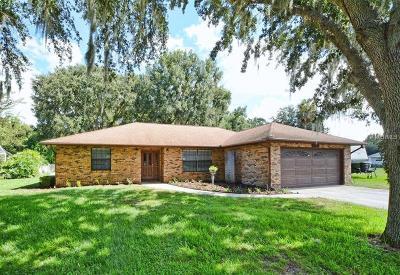 Fruitland Park Single Family Home For Sale: 5039 Mockingbird Lane