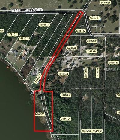 Leesburg Residential Lots & Land For Sale: Treasure Island Road