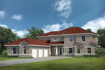 Tavares Single Family Home For Sale: Lot C22 Sawgrass Run #LOT C22