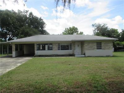 Mount Dora FL Single Family Home For Sale: $184,900