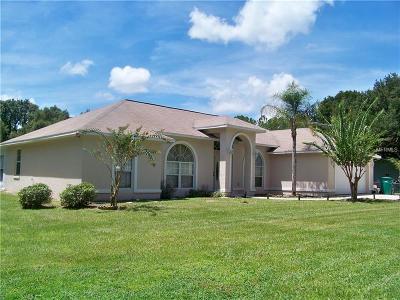 Fruitland Park Single Family Home For Sale: 1205 Pine Ridge Dairy Rd