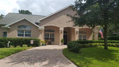 mount dora Single Family Home For Sale: 1605 Overlook Drive