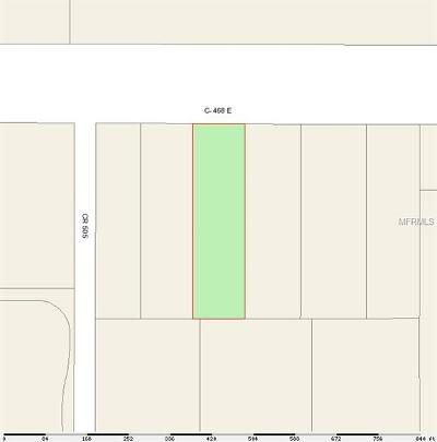 Wildwood Residential Lots & Land For Sale: 5035 E County Road 468