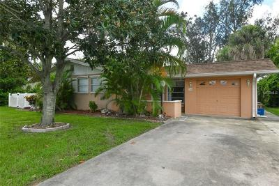 Venice FL Single Family Home For Sale: $229,900