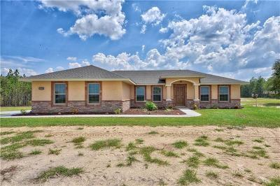 Levy County Single Family Home For Sale: 13830 SE 60th Street