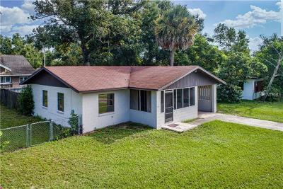 Eustis Single Family Home For Sale: 1501 E Lakeview Ave