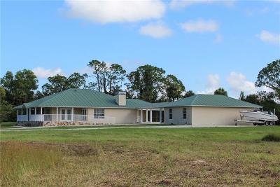 Fort Myers Single Family Home For Sale: 5601 Jackson Road