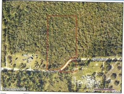 Clermont Residential Lots & Land For Sale: Oil Well Road