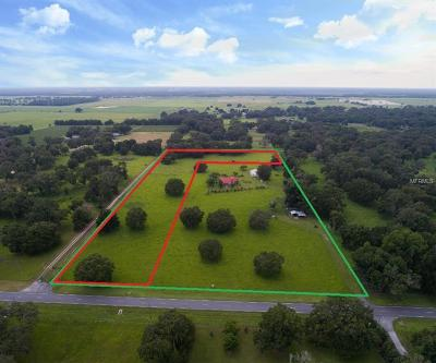 Sumter County Residential Lots & Land For Sale: Tbd N County Road 475