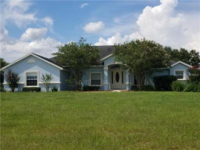 Lady Lake Single Family Home For Sale: 5708 Marion County Road