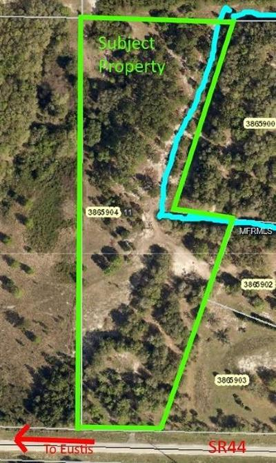 Eustis Residential Lots & Land For Sale: State Road 44