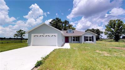 Eustis Single Family Home For Sale: 007 Larkspur Avenue