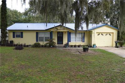 Leesburg Single Family Home For Sale: 1300 Selman Road