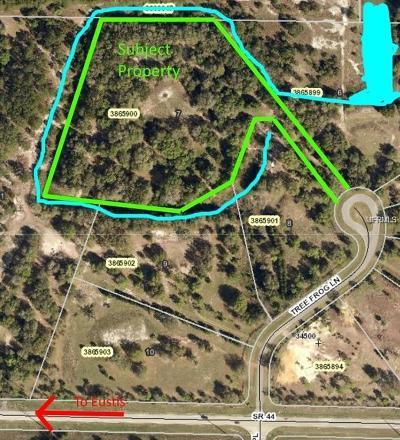 Eustis Residential Lots & Land For Sale: Tree Frog Lane