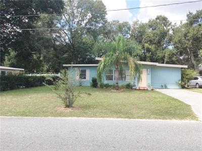 Leesburg Single Family Home For Sale: 1107 Pamela Street