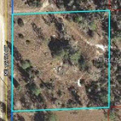 Levy County Residential Lots & Land For Sale: 1091 NE 127th Court