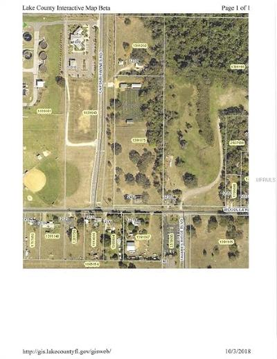 Tavares Residential Lots & Land For Sale: 2450 Woodlea Road
