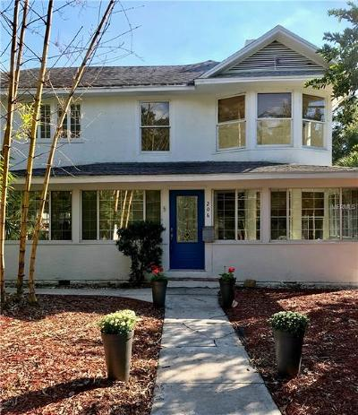 Mount Dora Single Family Home For Sale: 206 E 9th Avenue