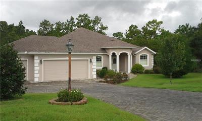Homosassa Single Family Home For Sale: 59 Cypress Boulevard E