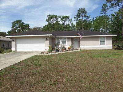 Marion County Single Family Home For Sale: 56 Bahia Trace