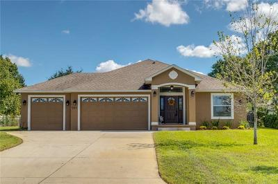 Eustis Single Family Home For Sale: 999 Country Club Road
