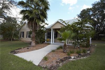 Groveland Single Family Home For Sale: 9622 Doctor Baker Road