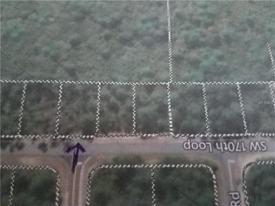 Residential Lots & Land For Sale: SW 170th Loop