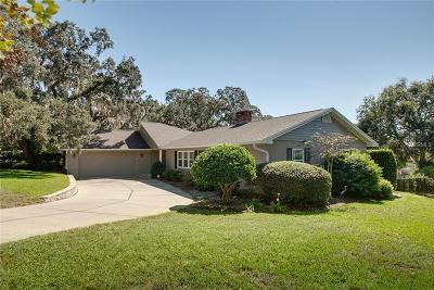 Eustis Single Family Home For Sale: 1500 E Crooked Lake Drive
