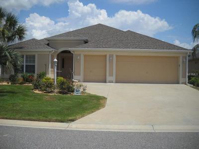 The Villages Single Family Home For Sale: 2123 Odessa Circle