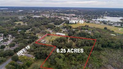 Groveland Residential Lots & Land For Sale: 632 State Road 19 Highway