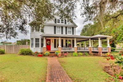 Eustis Single Family Home For Sale: 900 S Center Street