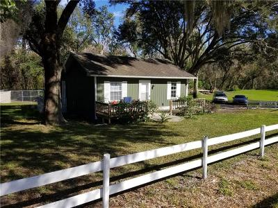 Single Family Home For Sale: 2220 Old Tavares Road