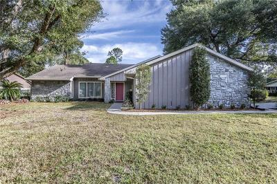 Eustis Single Family Home For Sale: 3049 Windham Drive